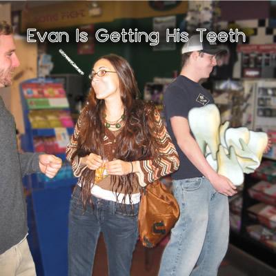 Evan Is Getting His Teeth (11/11/05)